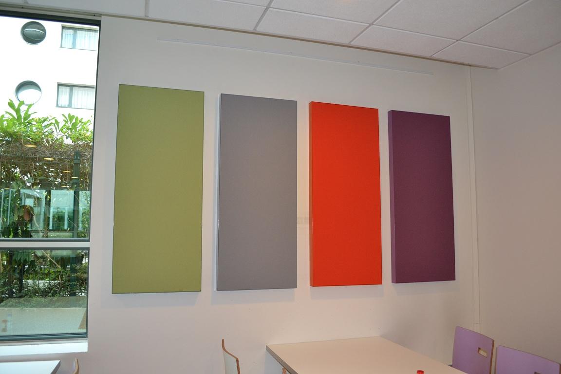 Solutions acoustiques mobilier de bureau travaux for Panneau acoustique mural decoratif